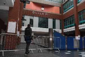 Preston Guild Hall has been placed into administration