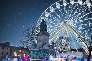 An artist's impression of how the wheel will look