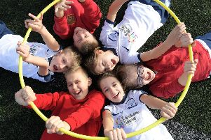 Youngsters from Grange Primary enjoy their day out