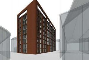 A sports hall in Garden Street, Preston could be torn down to make way for a nine storey building made up of 65 apartments