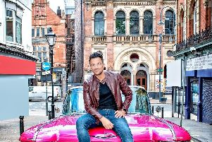 Peter Andre shares the role of Teen Angel with Ore Oduba