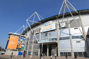 The KCOM Stadium, home of Hull City.