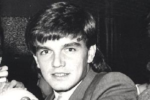 Charlie Williamson as a Sheffield Wednesday player back in 1984