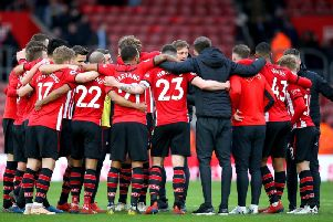 The Southampton squad