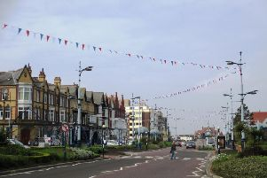 Bunting in St Annes