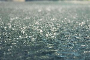 Rain is forecast for most of tomorrow.