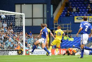 Simon Whaley scores for Preston at Ipswich in August 2008 - the last time PNE won away on the opening day