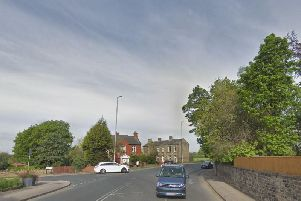 Bradford Road in East Ardsley, at the junction with Woodhouse Lane (Photo: Google).
