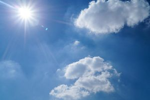 The weather is set to be clear and bright today, with plenty of sun throughout the day.