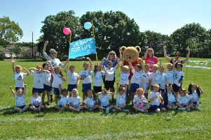 Westgate Primary School's Race for Life.