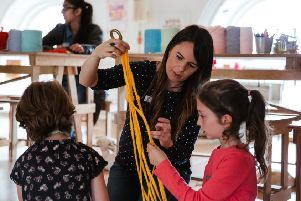 ACTIVITIES: Stitch-Up will be running a  summer school where children can learn crafts and eat healthily over the holidays.