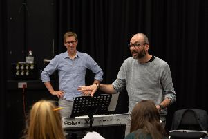 Richard Taylor and Douglas Maxwell are writing a musical with UCLan students