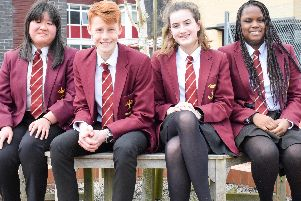 Pupils at the school.