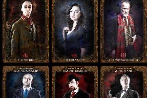 Award winners: The cast of The Haunting of Blaine Manor.