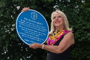 Christine Boothroyd, owner of The Chambers in Park Place, Leeds, where the blue plaque commemorating the Mawer Group is to be housed. PIC: James Hardisty