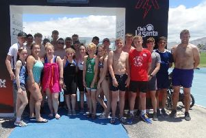 Bay Leadership Academy pupils on their annual sports trip to Club La Santa.