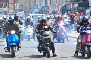 Morecambe Rides Again Scooter Rally