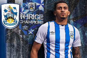 Huddersfield Town's new home kit