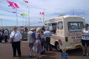 Ice cream sellers have previously been able to take advantage of busy festival weekends in Morecambe.