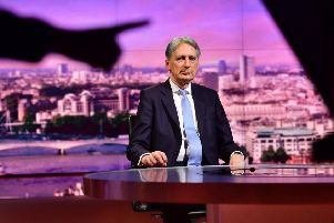 Chancellor Philip Hammond has pre-announced his resignation on national televisiion.