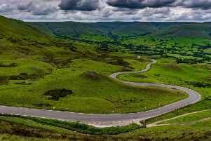 The new bus service is intended to reduce the number of cars on the road in and around the National Park.