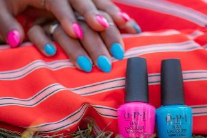OPI's neon colours