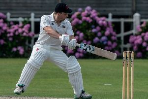 Garstang's Mike Walling in action against Blackpool     Picture: Tim Gilbert/Preston Photographic Society
