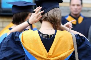 Workers with a new degree earned a median salary of 19,700 in North East Derbyshire.