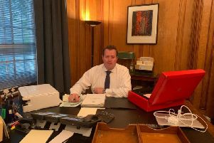 Mark Spencer, MP for Sherwood, is the new Government chief whip