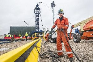 The Labour leader, Jeremy Corbyn, will join protesters in Lancashire on Tuesday, where he will call for an immediate ban on fracking