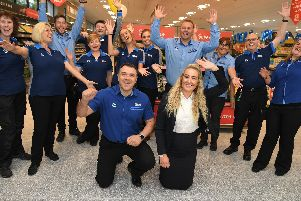 Opening of the new Aldi at the Fulwood Central retail park