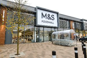 The M&S Simply Food store in Kirkstall
