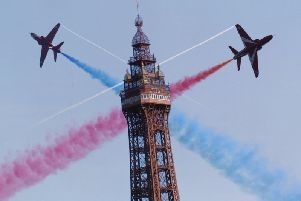 Blackpool Air Show will go ahead on Sunday, though the Saturday show will not.