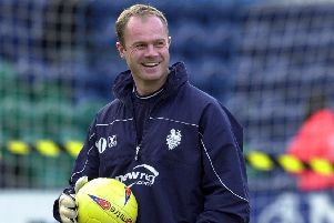 Jonathan Gould pictured in 2004 during his spell at Deepdale