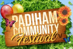 Padiham Community Festival takes place in Memorial Park on Saturday