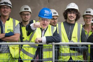 Boris Johnson promised to improve rail links in the North within days of becoming Prime Minister.