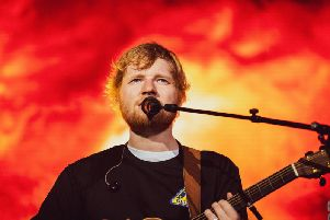 Sheeran in full flow