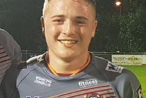 20-year-old Batley Bulldogs Rugby League player Archie Bruce