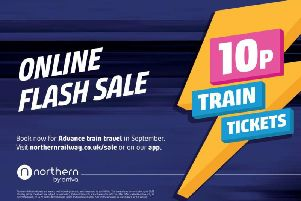 This is how you can grab yourself a 10p train ticket with Northern from today