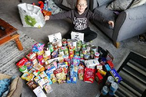 Joshua Blackwell (8), who attends Farington Moss St Paul's CE Primary School, has spent nearly every day of his summer holidays collecting hygiene products, non-perishable food and warm clothing for the homeless.