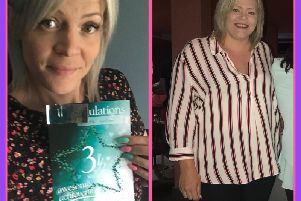 Claire Sutton (33) shares her inspiring weight loss journey, along withhealthy recipes andexercise tips with her followers on her Instagramaccount: ifthatgirlcan.