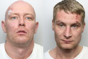 Ryan Hurley, aged 32, of Dewsbury and Lee Cass, aged 27 of Heckmondwike have both been jailed