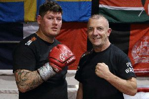 Aidan Anderson makes his professional boxing debut at Elland Road on September 6.
