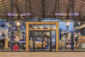 Preston Market Hall. Pic: David Simmons