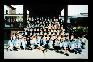 More than 100 pupils received certificates and books for their efforts and achievements at the annual prize day in July 1994