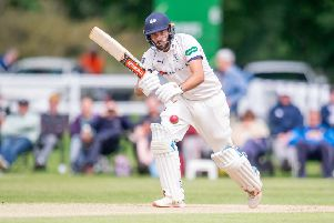 MOVING ON: Yorkshire's Jack Leaning will join Kent at the end of the season. Picture by Allan McKenzie/SWpix.com