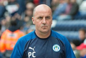 Wigan Athletic boss Paul Cook