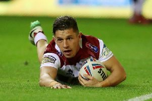 Morgan Escare has played twice on loan for Wakefield