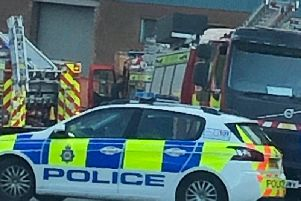 The scene of the incident in Beeston. Photo: Angela Weglarska