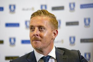 Garry Monk is unveiled as the new Sheffield Wednesday manager. Picture: Scott Merrylees